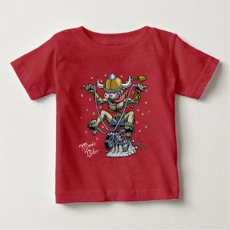 Minnie Biker Baby T-Shirt
