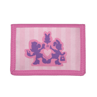 Minnie & Daisy   Happy Helpers Tri-fold Wallets
