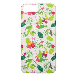 Minnie & Daisy | Tropical Pattern iPhone 7 Plus Case