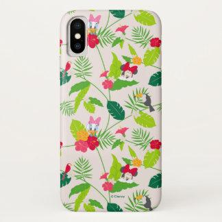 Minnie & Daisy | Tropical Pattern iPhone X Case