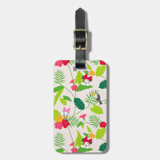 Minnie & Daisy | Tropical Pattern Luggage Tag