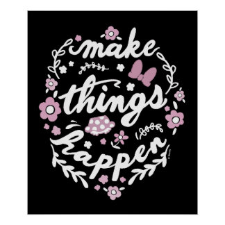 Minnie   Make Things Happen Poster
