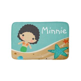 Minnie Mermaid Bath Mat