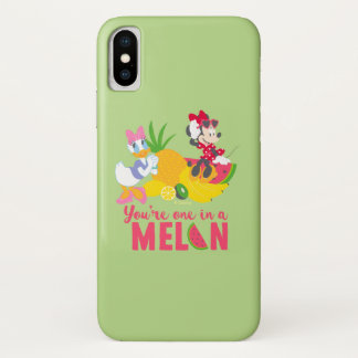 Minnie | Minnie Says Your'e One In A Melon iPhone X Case
