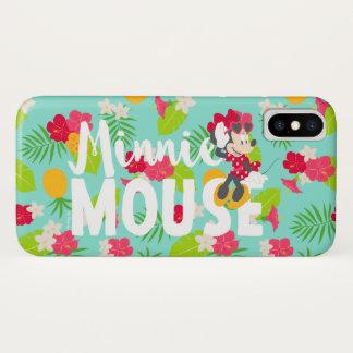 Minnie | Minnie's Tropical Pose iPhone X Case