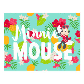Minnie | Minnie's Tropical Pose Postcard