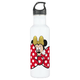 Minnie Mouse   Bow Tie 710 Ml Water Bottle
