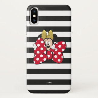 Minnie Mouse | Bow Tie iPhone X Case
