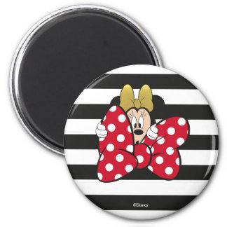 Minnie Mouse   Bow Tie Magnet
