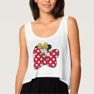 Minnie Mouse   Bow Tie Singlet