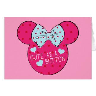 Minnie Mouse | Cute as a Button Card