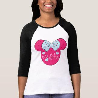 Minnie Mouse | Cute as a Button T-Shirt