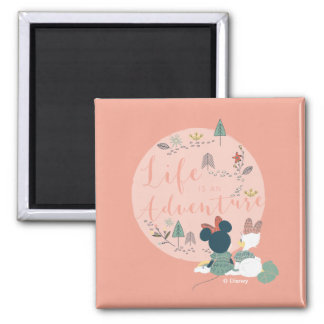 Minnie Mouse & Daisy Duck | Life is an Adventure Magnet