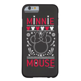 Minnie Mouse | Decoration Pattern Barely There iPhone 6 Case