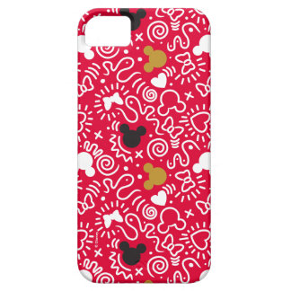 Minnie Mouse | Doodle Pattern Barely There iPhone 5 Case