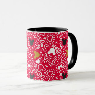 Minnie Mouse | Doodle Pattern Mug