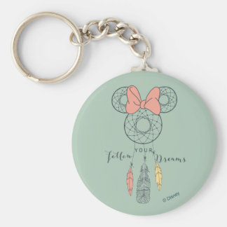 Minnie Mouse Dream Catcher | Follow Your Dreams Key Ring