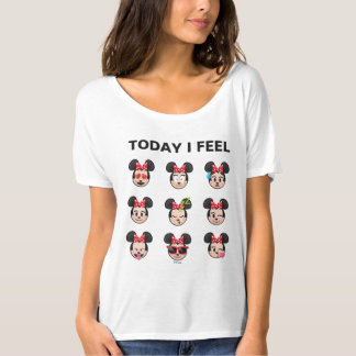 Minnie Mouse Emojis   Today I Feel T-Shirt