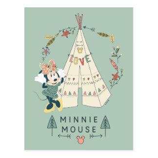 Minnie Mouse   Festival Fun Postcard