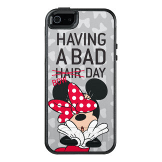 Minnie Mouse | Having a Bad Bow Day OtterBox iPhone 5/5s/SE Case