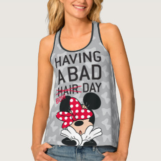 Minnie Mouse   Having a Bad Bow Day Singlet