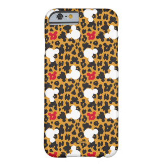 Minnie Mouse | Leopard Pattern Barely There iPhone 6 Case