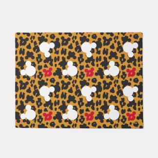 Minnie Mouse | Leopard Pattern Doormat