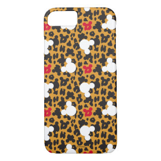 Minnie Mouse | Leopard Pattern iPhone 8/7 Case