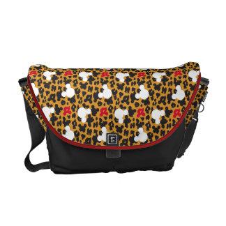 Minnie Mouse | Leopard Pattern Messenger Bags