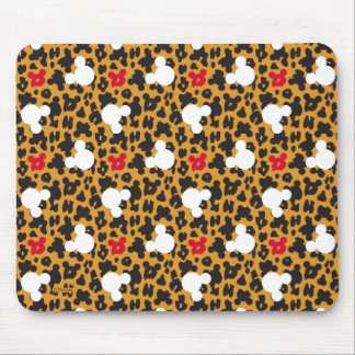 Minnie Mouse   Leopard Pattern Mouse Pad