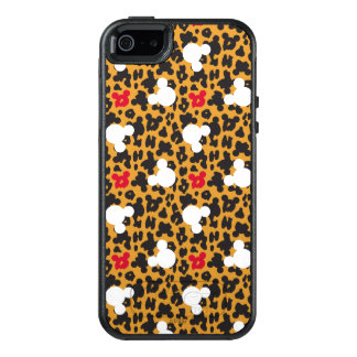 Minnie Mouse | Leopard Pattern OtterBox iPhone 5/5s/SE Case