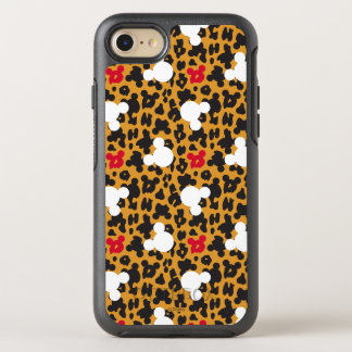 Minnie Mouse | Leopard Pattern OtterBox Symmetry iPhone 8/7 Case