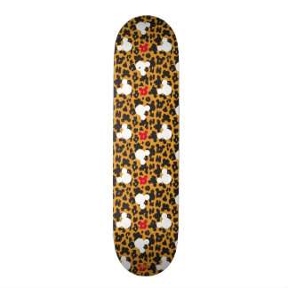 Minnie Mouse | Leopard Pattern Skate Decks