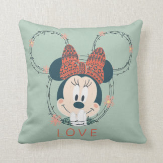 Minnie Mouse | Love Cushion