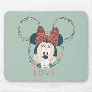 Minnie Mouse   Love Mouse Pad