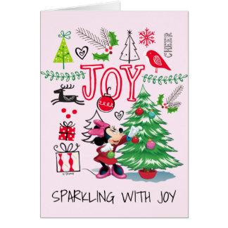 Minnie Mouse   Minnie's Christmas Joy Card