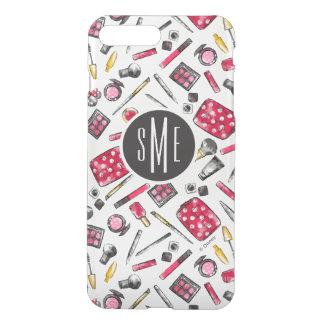 Minnie Mouse | Monogram #what'sinmypurse Pattern iPhone 7 Plus Case