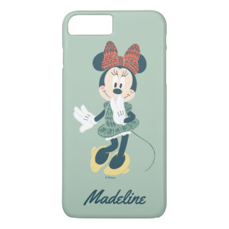 Minnie Mouse | Never Stop Exploring | Your Name iPhone 7 Plus Case