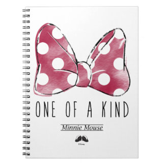 Minnie Mouse | One Of A Kind Spiral Notebook