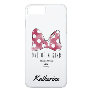 Minnie Mouse | One Of A Kind | Your Name iPhone 7 Plus Case