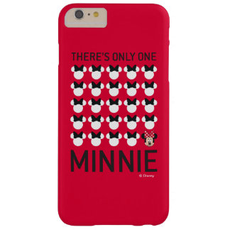 Minnie Mouse | Only One Minnie Barely There iPhone 6 Plus Case
