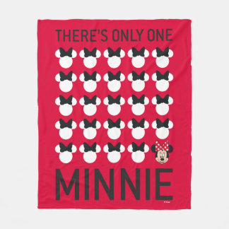 Minnie Mouse | Only One Minnie Fleece Blanket