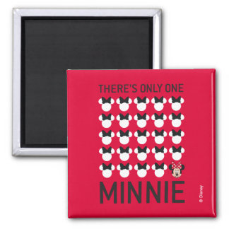 Minnie Mouse | Only One Minnie Magnet