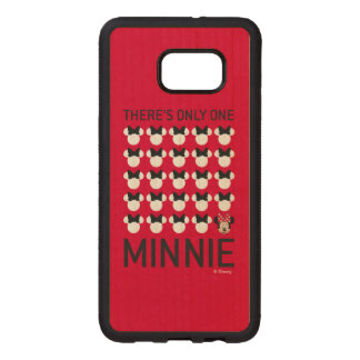 Minnie Mouse | Only One Minnie Wood Samsung Galaxy S6 Edge Case