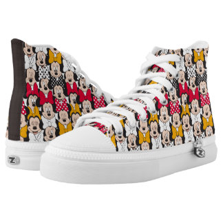 Minnie Mouse   Pattern High Tops