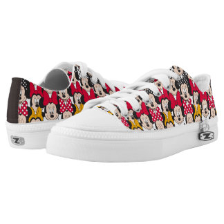Minnie Mouse   Pattern Low Tops