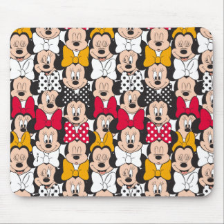 Minnie Mouse   Pattern Mouse Pad
