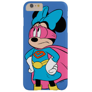 Minnie Mouse | Super Hero in Training Barely There iPhone 6 Plus Case