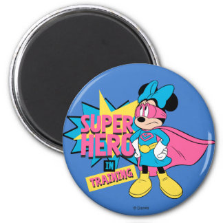 Minnie Mouse   Super Hero in Training Magnet