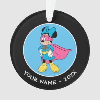 Minnie Mouse | Super Hero in Training Ornament